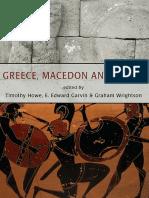 Greece, Macedon and Persia - Timothy Howe, E. Edward Garvin, Graham Wrightson