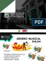 Diapositivas Genero Salsa