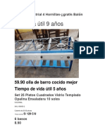 Cocina Industrial 4 Hornillas (Autoguardado) (Autoguardado)