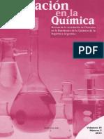 EDUCACION EN LA QUIMICA 2013
