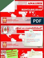 FINANZAS DE LA RENTABILIDAD