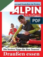 Draußen essen (Alpin Booklet, 2015-08)
