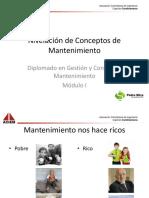Diapositivas Nivelación de Conceptos de mantenimiento