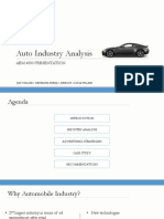 Automobile Industry Analysis PPT