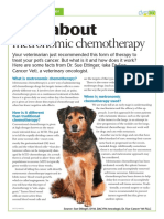 Veterinary Handout Metronomic Chemotherapy