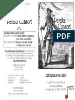 Peralta Consort June 2018 FCCS Program