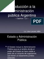 estado y administracion