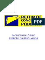 Raciocinio Logico Exercicios Resolvidos - Vilson cortez Resumos Concursos.pdf