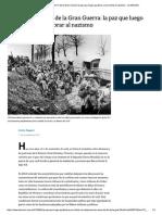 A Cien Años Del Fin de La Gran Guerra - La Nación