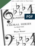 A Choral Prayer (Choral)