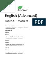 AOS Advanced Paper 2 (Version 2) Art of Smart