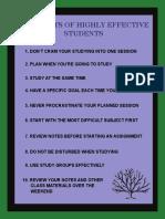 10study Tips
