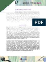 Octavio Paz La Llama Doble