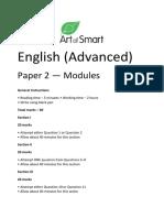 AOS Advanced Paper 2 (Version 1) Art of Smart
