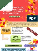 ..ÍSMODES. DE LAS GARANTÍAS DE LOS TÍTULOS VALORES. LA FIANZA, EL AVAL Y LA GARANTÍA REAL.pdf