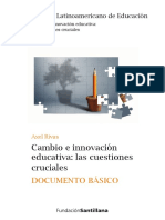 Cambio e innovacion educativa - Axel Rivas.pdf