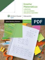 Enseñar matemáticas a alumnos con necesidades educativas especiales - Jaime Martínez Montero.pdf