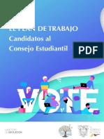 Plan de Trabajo Candidatos a Consejos Estudiantiles