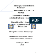 La Antropología y El Estudio de La Política Pública