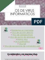 Tipos de Virus Informático