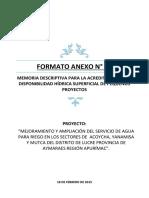 FORMATO ANEXO N° 07-ALA