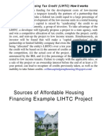 Sources of Affordable Housing Financing[1]2008