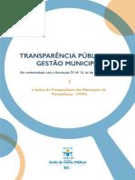 Transparência Pública na Gestão Municipal