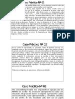 Ejercicios DOP, DAP, RECORRIDO