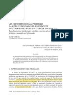ES CONSTITUCIONAL PROHIBIR REELECION TERCER MANDATO.pdf