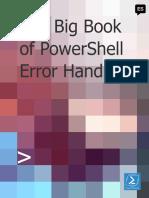 Big Book of PowerShell Error Handling Español