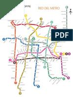 Red del Metro DF Simple