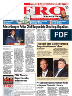 Prince George's County Afro-American Newspaper, October 16, 2010