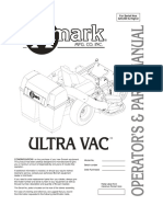 Exmark Ultra Vac Operators & Parts Manual 103-4456