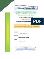 Caracteristica Quimicas Del Agua Subterranea