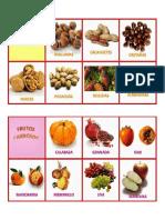 Frutos Secos y Carnosos