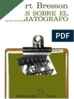 Notas sobre el cinematógrafo - Bresson.pdf