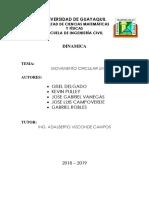 Proyecto Dinamica- Movimiento Circular Uniforme (1)