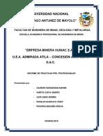Informe Huinac - Practicaspre-1