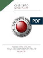 955-0004_v50 Rev-e Red Ps, Redcine-x Pro Operation Guide