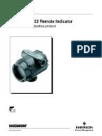 Rosemount 752 Remote Indicator