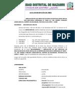 Acta de Recepcion Huaripampa