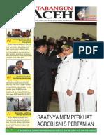 Tabangun Aceh (Edisi 23 Juni 2012) ~ Saatnya Membangun Agribisnis