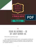 Plano de Estudos 06 - Semana 03.10