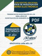 TENDENCIAS EN INVESTIGACIÓN DE LOS SEMILLEROS DE INVESTIGACIÓN EN INGENIERÍA ELECTRÓNICA