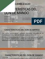 Caracteristicas Del Don de Mando