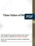 Time Value of Money and Compound Factor