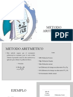 Metodo de Proyeccion de Poblacion