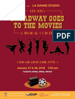 Broadway Goes to the Movies