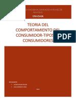 TEORIA DEL COMPORTAMIENTO DEL CONSUMIDOR