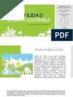 Movilidad Urbana y Espacios Públicos